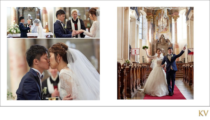 Y&M wedding album layout 9