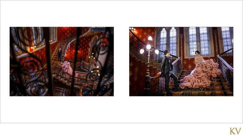 St. Pancras Renaissance Hotel London pre wedding