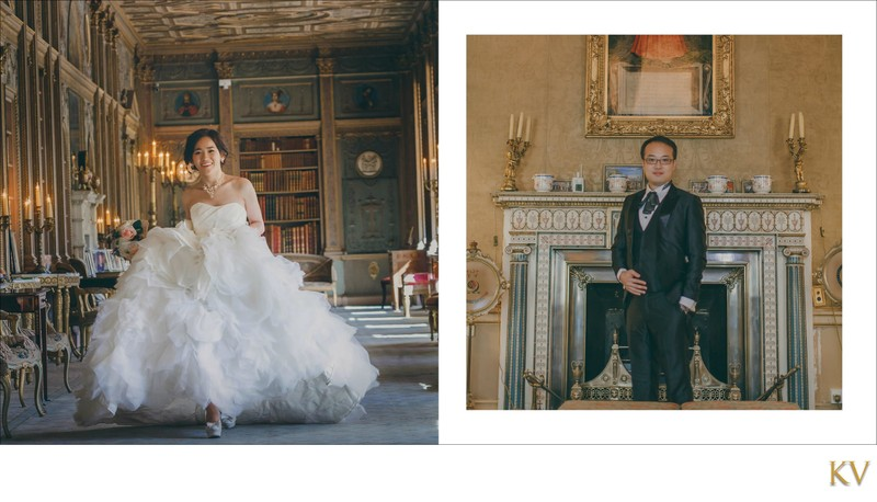 Bride & Groom Syon House London weddings