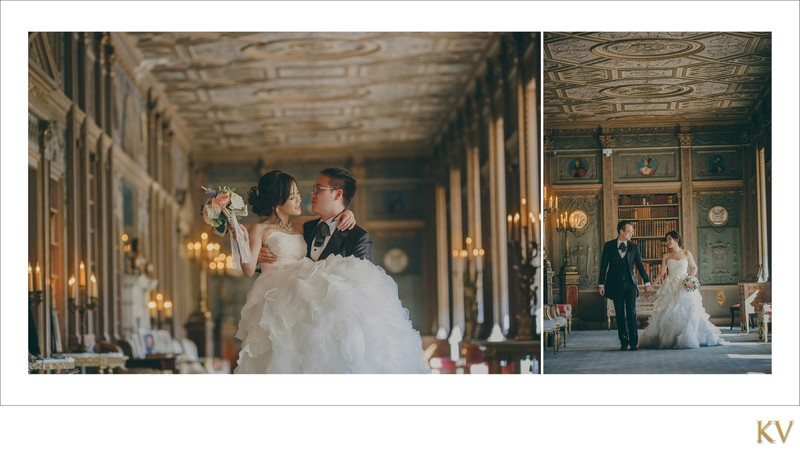happy bride & groom Syon House London pictures