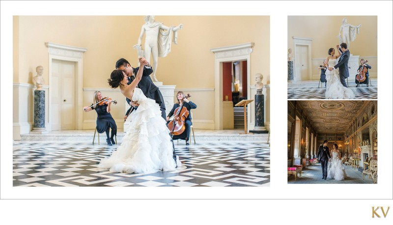 the 1st dance Syon House London weddings