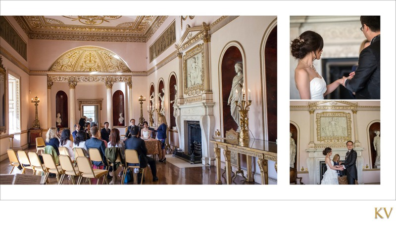 the wedding ceremony Syon House London