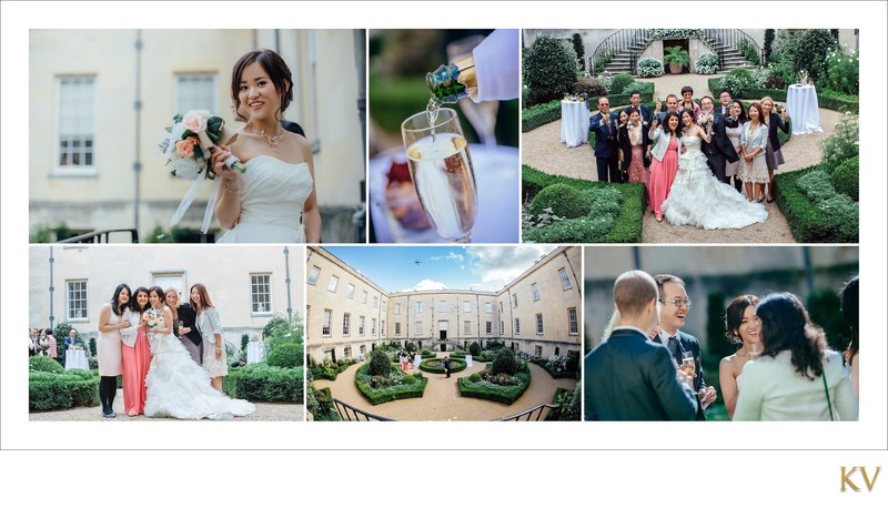 Syon House London bride & groom wedding reception