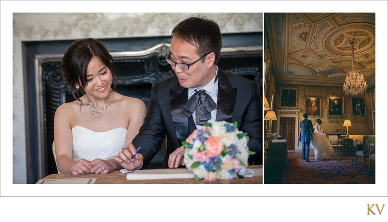 making it official Syon House London wedding