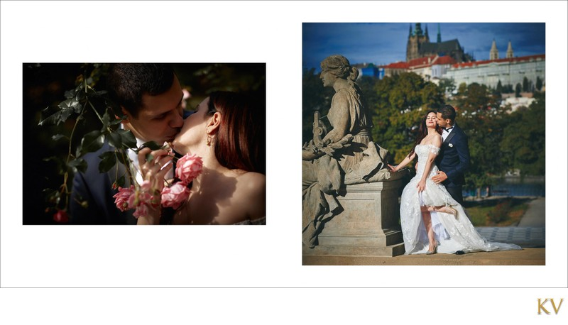 Turkish bride & groom Prague wedding photos