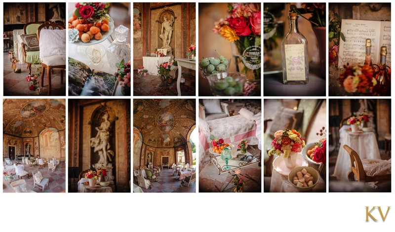 The Vrtba Garden wedding interior styling and design