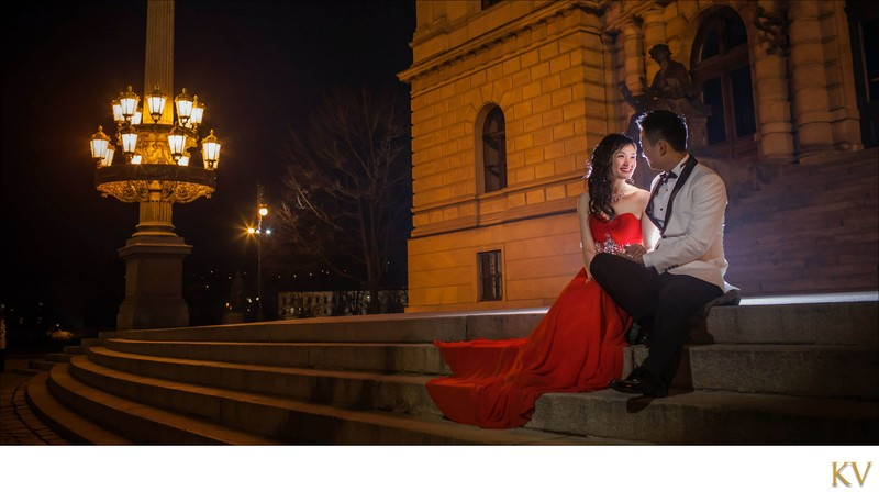 S&S night portraits at Rudolfinum