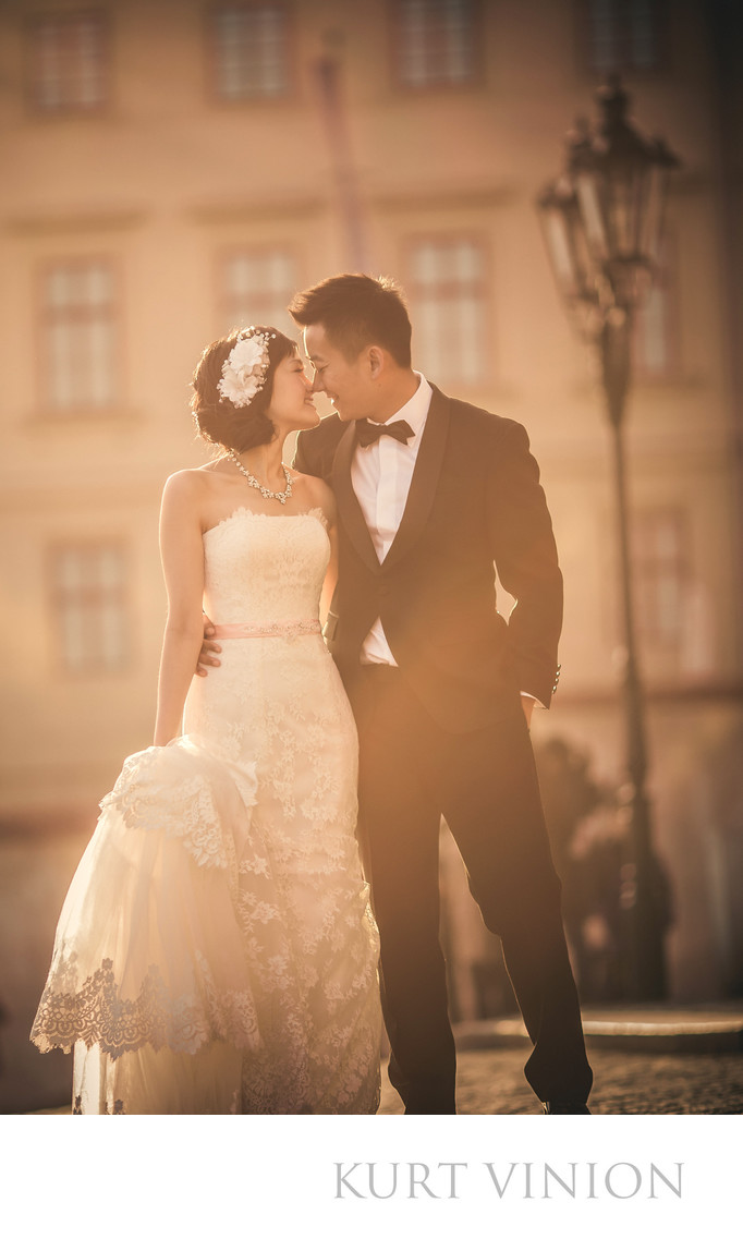 Prague Castle wedding day photos