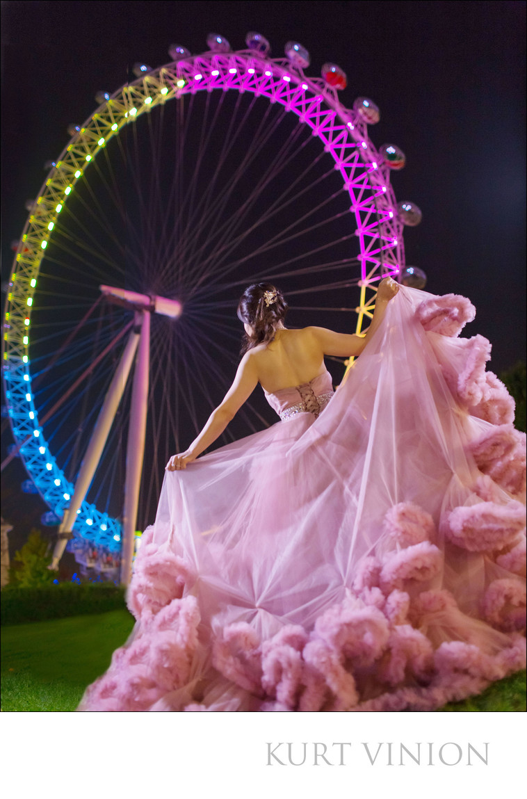 London Eye pre wedding photos