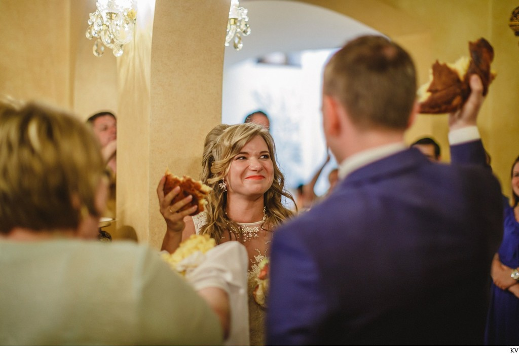 Russian wedding tradition at the Alchymist Grand Hotel