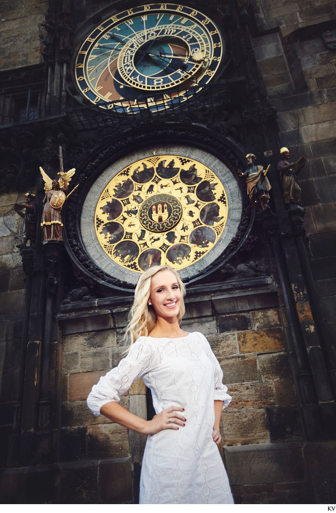 High School Senior Portrait Photography Prague 3