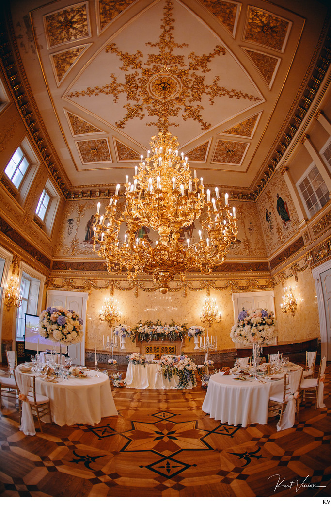 VIP wedding photo Kaunicky Palace Prague