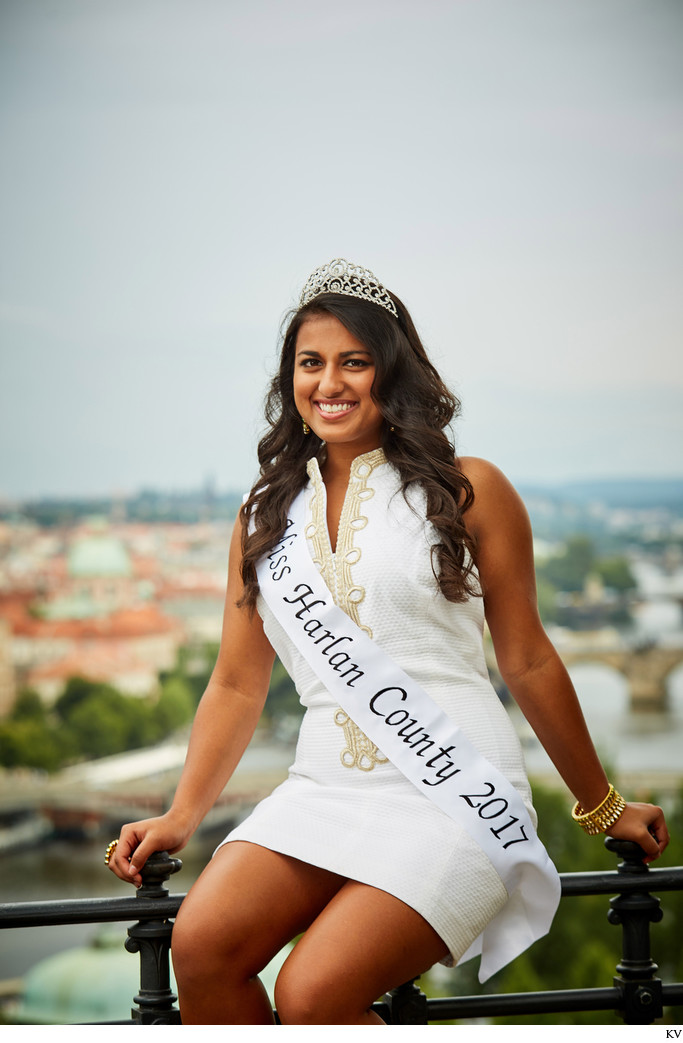 Miss Harlan County photographed in Prague