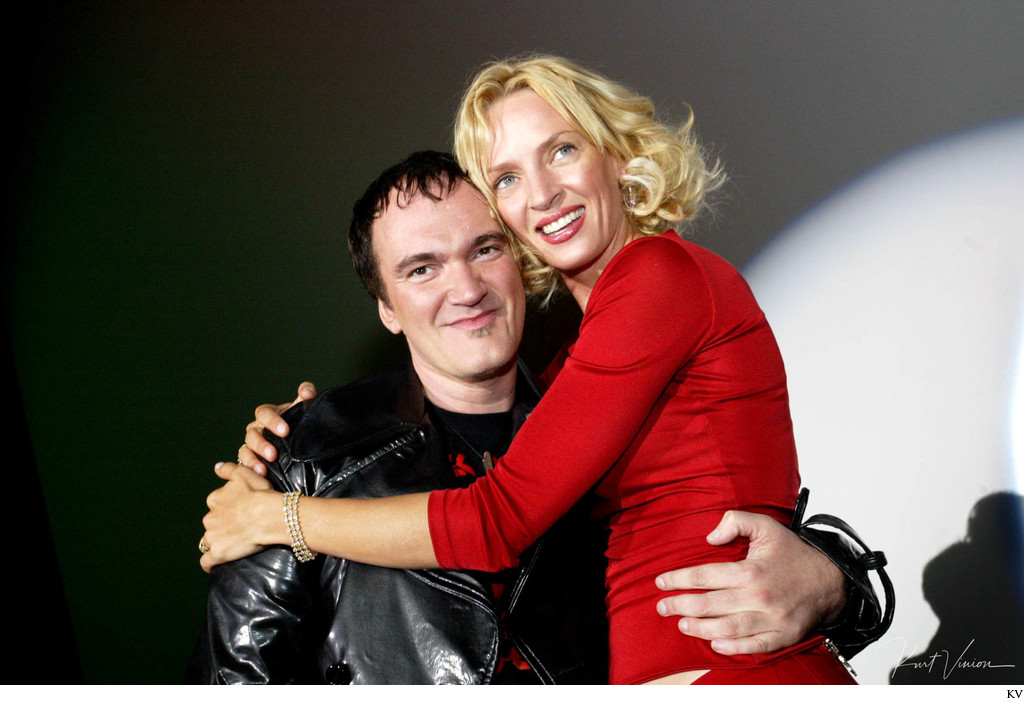 Director Quentin Tarantino & Actress Uma Thurman