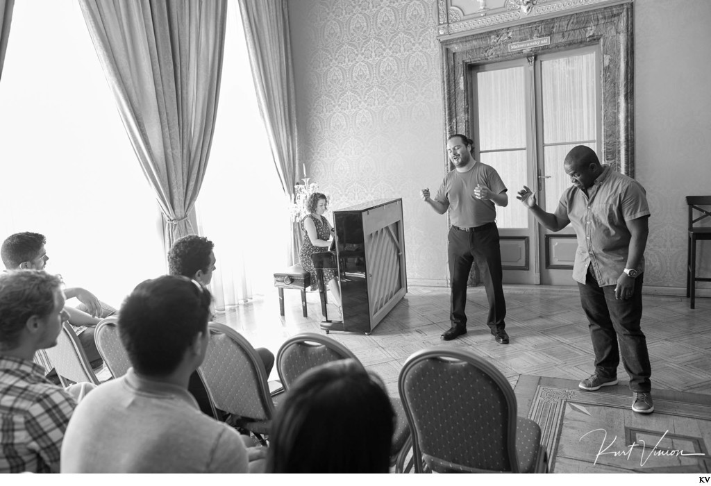Opera star Lawrence Brownlee Masterclass workshop