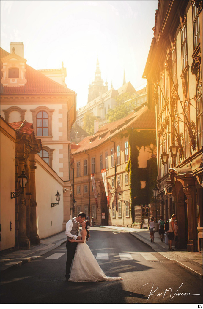Golden Hour in Mala Strana
