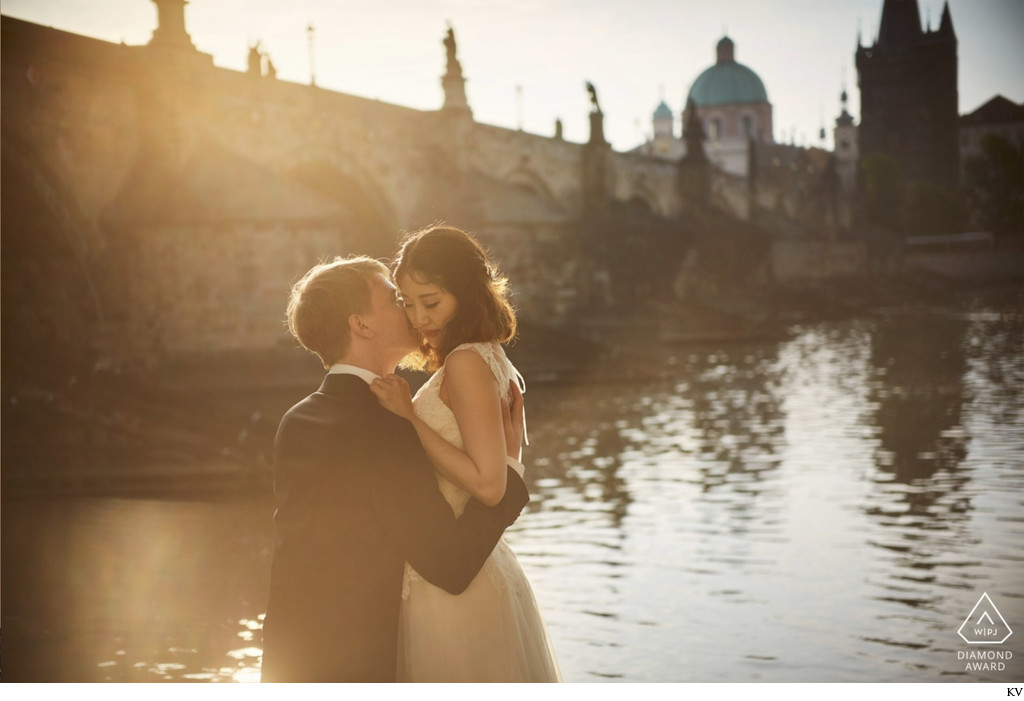 WPJA Diamond Award - Prague - sun flared moment