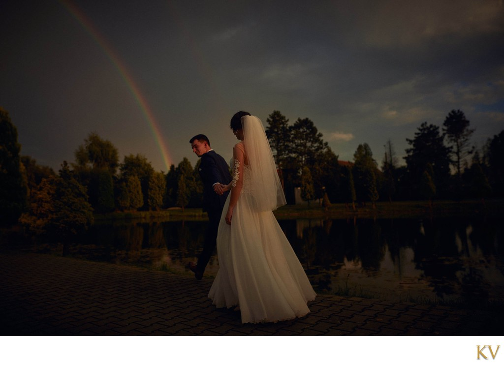 bride + groom + rainbow weddings in Poland