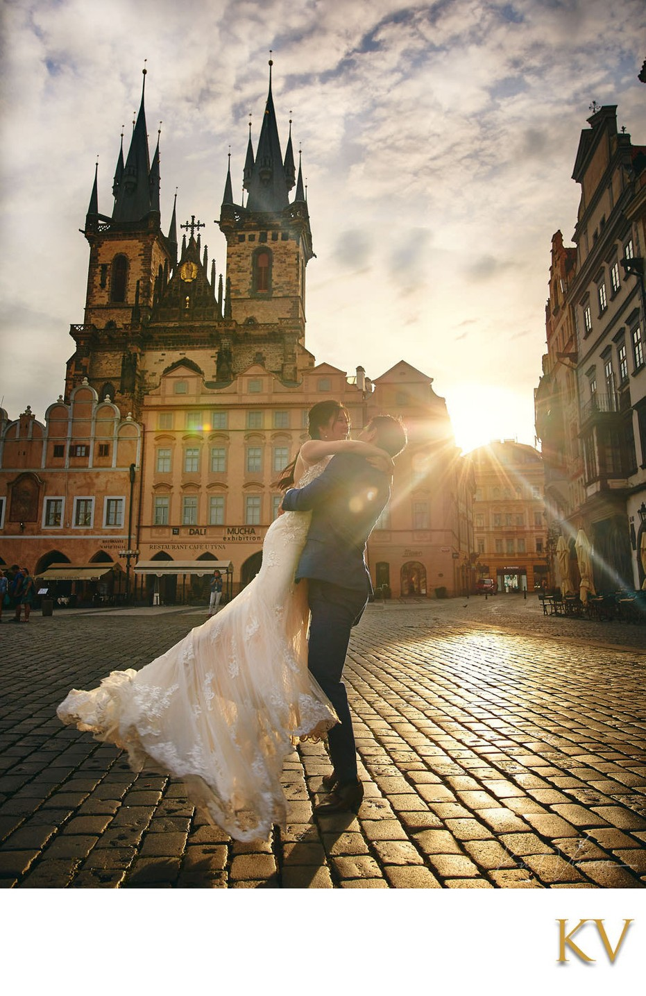 Having the time of your life Prague Old Town Square