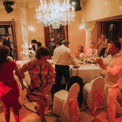 Time to party Prague weddings Alchymist Grand Hotel