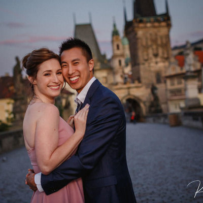 Marcy & Shane's marriage proposal photos from Prague