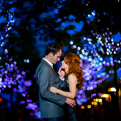 Tender as the night - A Dublin Engagement Photo Session