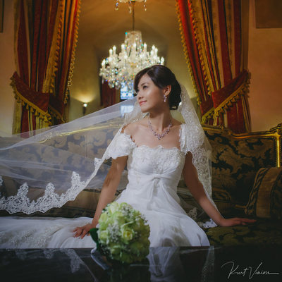The bride Eri Alchymist Grand Hotel Prague wedding