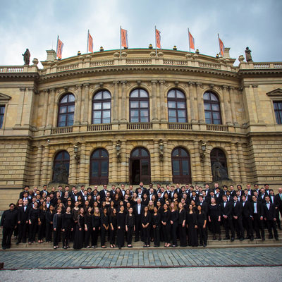 PR photo of Boston Orchestra Group photo at Rudolfinum