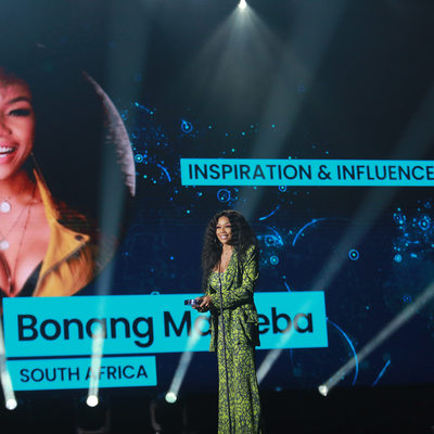 Inspiration & Influencer winner Global Social Awards