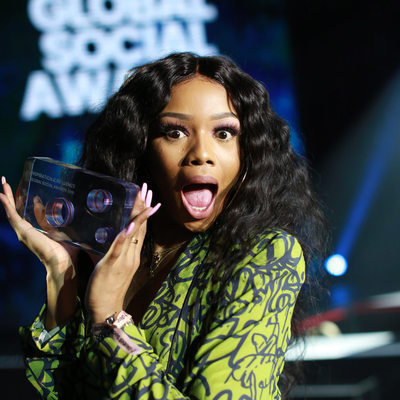 Global Social Award Winner Bonang Matheba