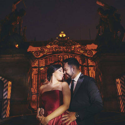 WPJA Diamond Award - Prague - Sexiest LA Couple Castle