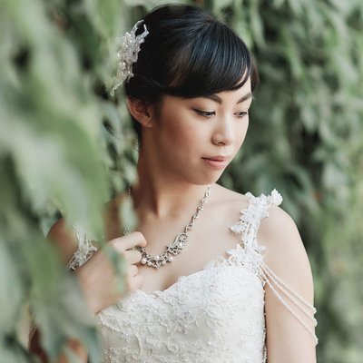 Bridal portrait of Cecelia (Macau) Prague pre wedding
