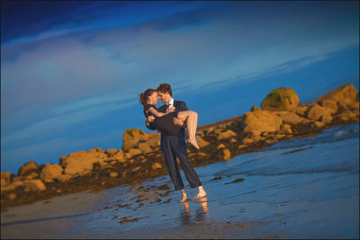 an Irish engagement portrait session in Galway, Ireland