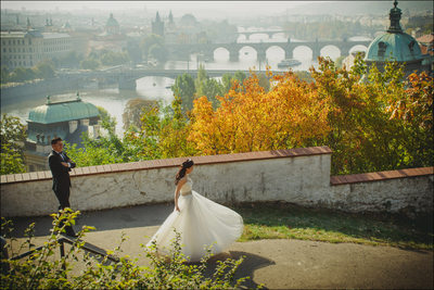Prague engagement photographers