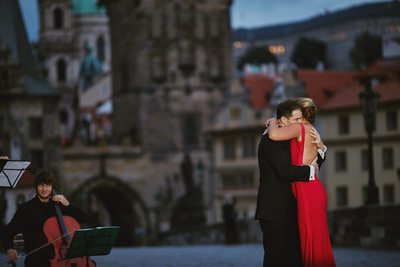 Prague marriage proposal photography