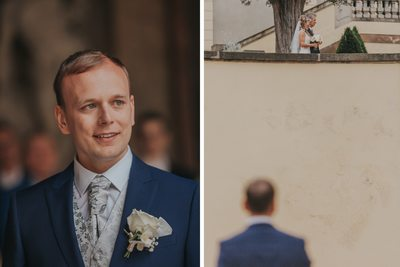 K+M (UK) Vrtba Garden destination wedding in Prague 10