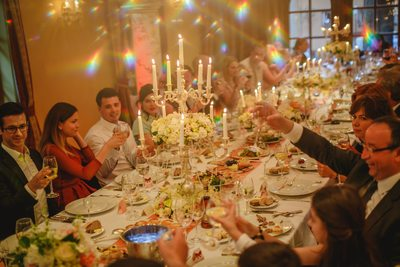 Toast for bride & groom Alchymist Grand Hotel Prague