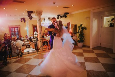 1st dance of the bride & Groom