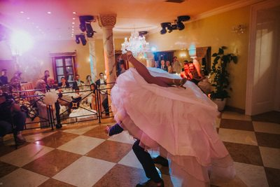 mad skills bride & groom wedding dance Alchymist Hotel