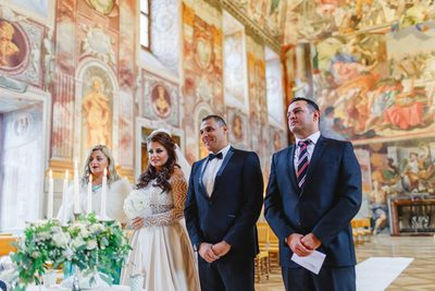 Prague destination wedding at the Troja Chateau 8
