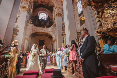 C+E beautiful Nigerian wedding day from Prague