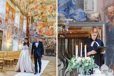Helen & Cesar wedding at Troja Chateau