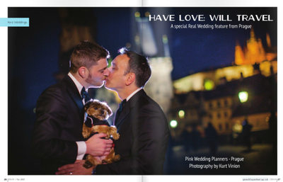 Gay Weddings & Marriage Magazine profile lede