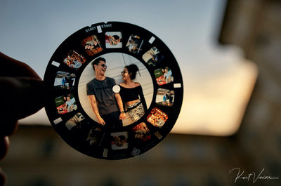 Prague marriage proposal: the viewmaster