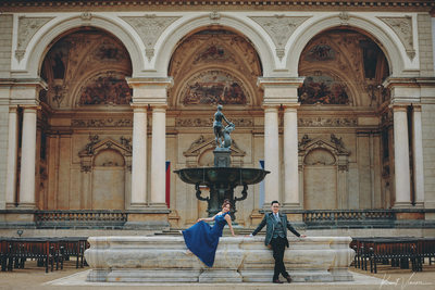 Hong Kong styled pre wedding photos from Prague