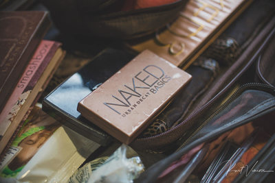 Naked makeup kit for the bride Augustine Hotel Prague