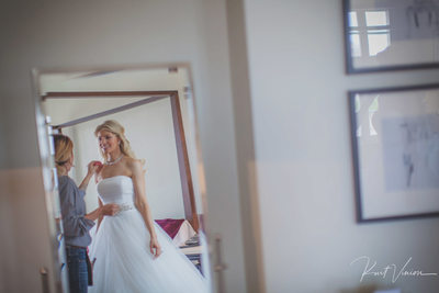 bride & makeup artist Augustine Hotel Prague weddings