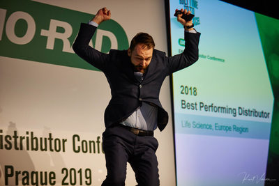 2019 Bio-Rad Gala & awards winner Jumping for Joy