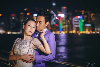 Hong Kong pre weddings at Tsim Sha Tsui 尖沙咀