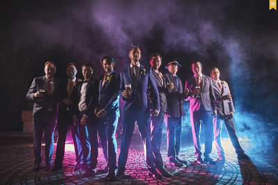 MyWed award winning portrait Groom & Best Men Slovakia
